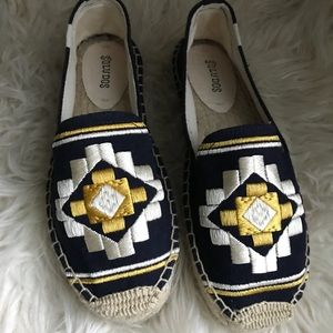 Soludos Smoking Espadrilles Slippers Shoes 8.5